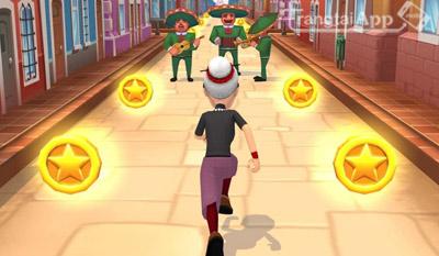 Angry Gran Run - Tải Game Chạy Ăn Vàng Miễn phí